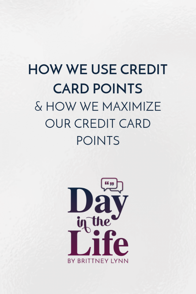 How We Are Maximizing Our Credit Card Points This Year & How You Can Too: Want to learn how you can maximize your credit cards to free flights? Check out this minisode on the Day in the Life podcast! #travel #creditcards #points